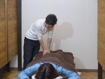 カルム(CALME)の写真/新規【ボディケアスタンダード60分¥4400】時短でスッキリ♪気になる部分をピンポイントに!
