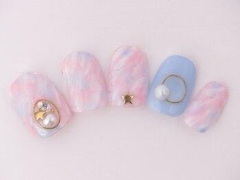 AXCEROSE nail&lash広尾駅上店_デザイン_03