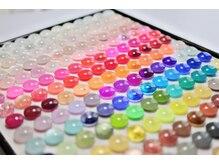 ナンバーナインネイル(No.9 nail)の雰囲気(約200色以上のカラ-や種類豊富なパ-ツで理想のデザインへ*)
