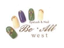 ビオールウエスト(Be All west Eyelash & Nail)/新規OFF込 ¥7700/再来 ¥8700