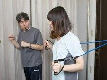 トレーニング+sportsマッサージを組みわせた痩身メニューが人気!