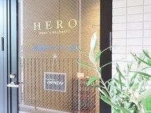 メンズ エステティック ヒーロー(men's esthetic HERO)の雰囲気(階段を上って右側一番奥の扉です★)