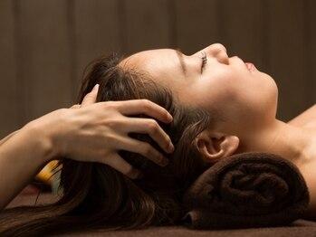 アクアプラス(AQUA+)の写真/お顔のたるみを改善するには頭部のコリを改善!リラクゼーション効果◎のスッキリ極上ドライヘッドスパ☆