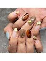 ドレープネイル(drape nail)