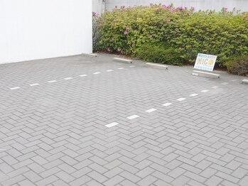 脱毛のお店 ニコ(NICO)/駐車スペース