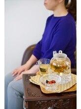 漢方セラピーサロン シエルブリュ(Ciel Bleu)/足浴と和漢茶
