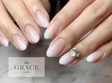 グレース ネイルズ(GRACE nails)/ホワイトグラデーション
