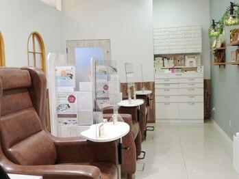 グランシュクアトロ 千葉店(GranCieux × QUATRO)/ネイル施術スペース