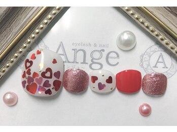 アイラッシュアンドネイル アンジュ(Ange)/定額ネイル
