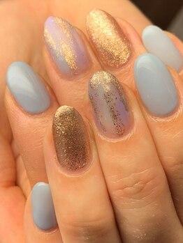 コルテネイル(CoRte.nail)の写真/倉敷で希少≪パラジェル認定サロン≫高い技術力を必要とするフィルイン対応!健康で美しい指先に導きます*