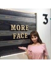 モアフェイス 池袋店(More Face)/モデルさんもご来院☆