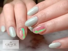 グレース ネイルズ(GRACE nails)/オーロラネイル