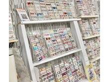 ネイルサロン ヴィヴィ(nail salon ViVi)の雰囲気(サンプルチップは盛りだくさん☆カラーも豊富に揃えております!)