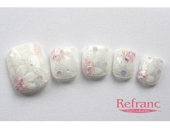 ルフラン 武蔵境店(Refranc)/ふんわりフラワーで可愛らしく♪