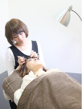 アイラッシュサロンブラン 武蔵小杉駅前店(Eyelash Salon Blanc)/【施術】