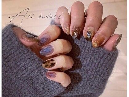 As nail