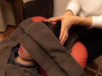リリーフ バイ クレオ(relief by CReO)の写真/眼精疲労/肩こり/脳疲労にアプローチ◎プロによる極上手技で自律神経を整え,深いリラックスへと導きます…*
