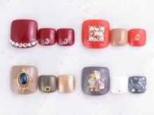 ワイスネイル(Weiss nail)の雰囲気(フットアートも得意です♪)
