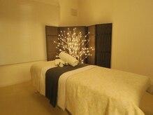 美容整体 ビューティーゾーン(美eauty-Zone)の雰囲気(施術は照明を落として個室で落ち着いて受けられます!)