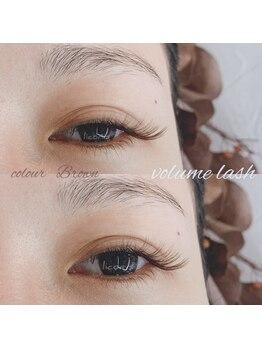 リコリス(licoris)/ボリュームラッシュ ブラウン