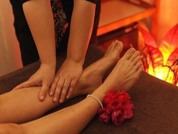 ハーブキャンディ 長岡京店の写真/台湾式フットマッサージで足の疲れや辛い冷え&むくみを徹底改善★スッキリ美脚へ♪
