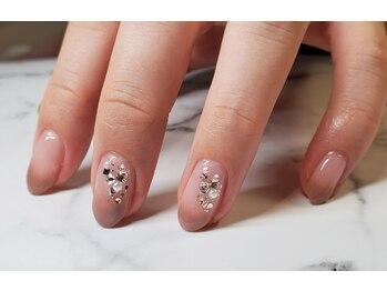 ネイルサロンブラン(nail salon BLANC)/大人なグラデーションネイル