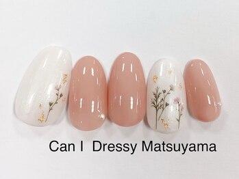 キャンアイドレッシー 松山大街道店(Can I Dressy)/春感満載ネイル 4980円