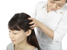 リフレ REFLE マルイファミリー溝口店の雰囲気(頭から首肩、肩甲骨を,じんわり癒すヘッド&ショルダーコース。)