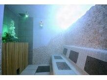 H2O ル・サブリナ心斎橋店の雰囲気(麦飯石&ハーブスチームで奥深くまで潤い、体内が循環。)