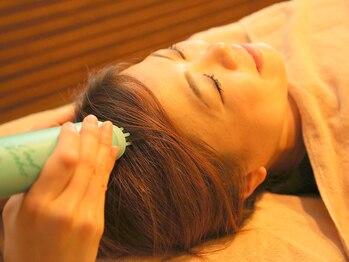 ラモアナ 本町店(lamoana)の写真/【本町1分】[Specialヘッド30分¥2800/Specialヘッド+首肩集中60分¥4300]不眠・眼精疲労・コリ等の不調に◎