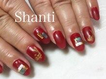 シャンティ ネイルサロン(Shanti nail salon)/動物ネイル!鯉 和柄マット