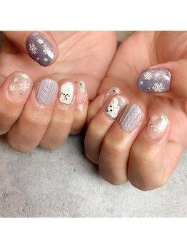 レイネイル レイアイ 豊橋牧野店(RAY NAIL & ray eye)/winter nail