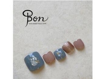 ネイルアトリエ ボン(nail atelier bon)/フットデザインネイル☆