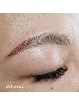アマナ アイラッシュ(Amana Eyelash)の写真/眉毛のお手入れもいかがですか?まつエク¥3.980とセットで初回+¥1.080