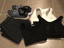 ボディメイクスタジオ リュクス(Body make studio RUXE)の雰囲気(Tシャツ&長ズボンのトレーニングウェアもご用意◎持込もOK♪)