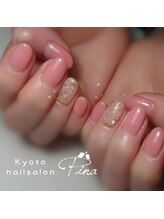 ピーナ ネイルアンドビューティー(Pina nail&beauty)/シンプル可愛いオフィスネイル★
