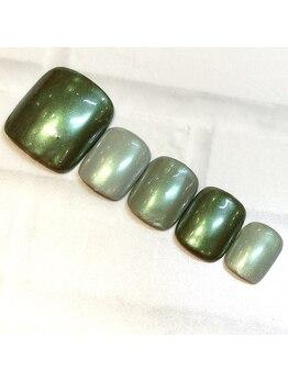 ライト ネイルズ ニシノミヤ(light nails NISHINOMIYA)/フットキャンペーン¥7150