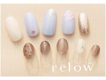 リロウ(relow)/2月キャンペーンネイル☆