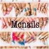 エムシーネイルズ(Mc nails)のお店ロゴ