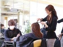 美容室併設なので同時施術OK☆Nailとても便利なNail Salon♪