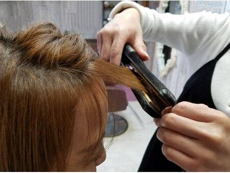 ラピスラズリ(Lapis Lazuli)の雰囲気(お出かけ前にも嬉しいエステ後の髪の毛も美容師がお直し致します)