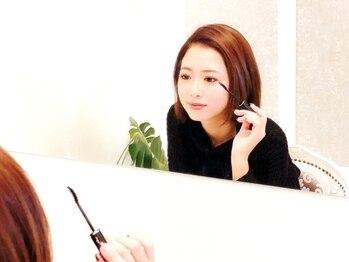 アンティー(antie)の写真/日本まつ毛エクステ協会認定取得者在籍!着けている事を忘れるほど軽い大人気の【フラットラッシュ導入♪】