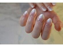 ネイルサロンブラン(nail salon BLANC)/シンプルなブライダルネイル