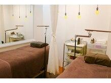 ウィンク アイラッシュアンドネイルサロン(Wink Eyelash & Nail salon)の雰囲気(ゆったりくつろげる施術スペース。)