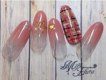 ミハフルーラ 与野(Home Nail Salon Mija Flura)/シンプル 5980円 O195S