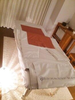 ラ フェルマーノ(La felmano)/ベッドには岩盤シート採用☆