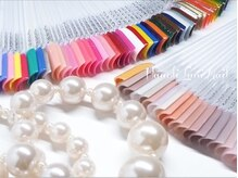 100種類以上のカラーからお好きな色をお選び下さい☆