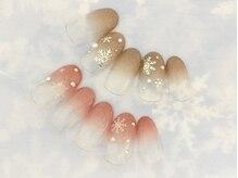 ネイルサロン キャンディネイル(Candy Nail)/雪の結晶 by石塚