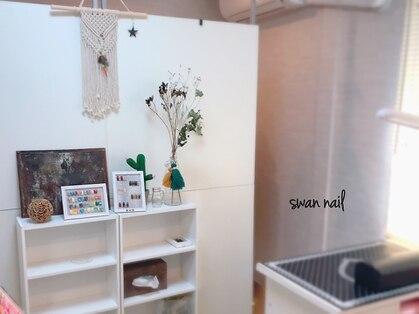 スワンネイル(Swan Nail)の写真