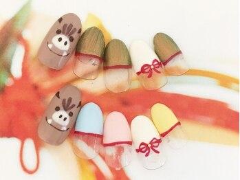 ネイルサロン キャンディネイル(Candy Nail)/年末ネイル¥5400by横山